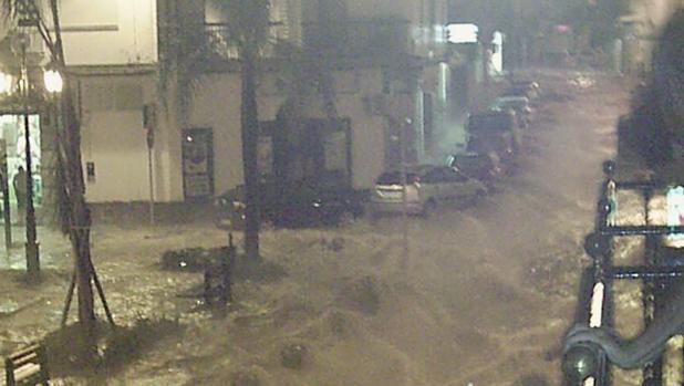 La localidad de Alcalá de Guadaíra ha sufrido varias inundaciones en los últimos años