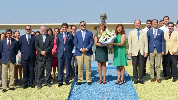 Acto celebrado en el campus del CEU Andalucía en memoria de Herrera Oria