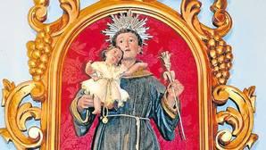 Imagen sustraída de la parroquia de la Encarnación de Bormujos