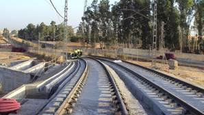 Las obras para prolongar la Línea 1 del Metro hasta Alcalá de Guadaíra