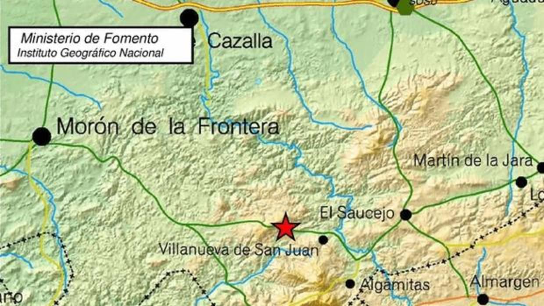 Registrado el cuarto terremoto en el sudeste de sevilla en - El tiempo en dos hermanas sevilla por horas ...