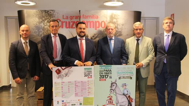 Presentación de «Una Pará en Gines», con la presencia del presidente de la Diputación y el alcalde