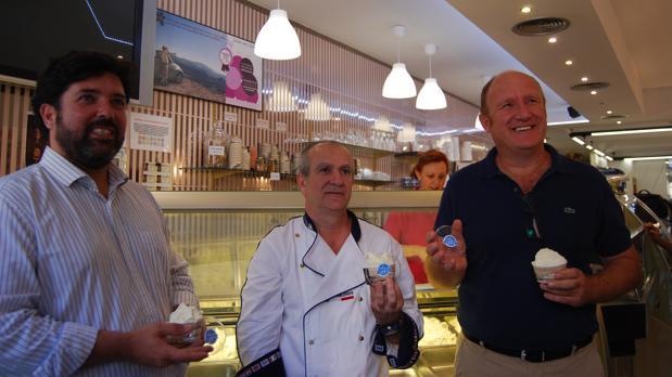 Dos empresas de Lora se han unido para crear un helado de aceite de oliva