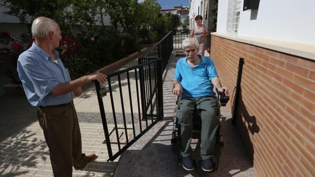 Juan Carretero Gil murió el año pasado después de pasar 12 años tetrapléjico