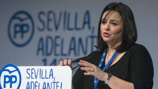 La presidenta provincial del Partido Popular, Virginia Pérez