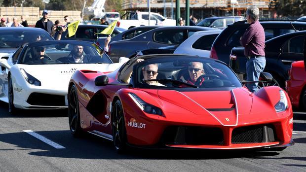 Concentración de Ferraris