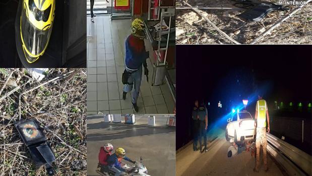 Los agentes ha detenido a dos individuos por diversos robos