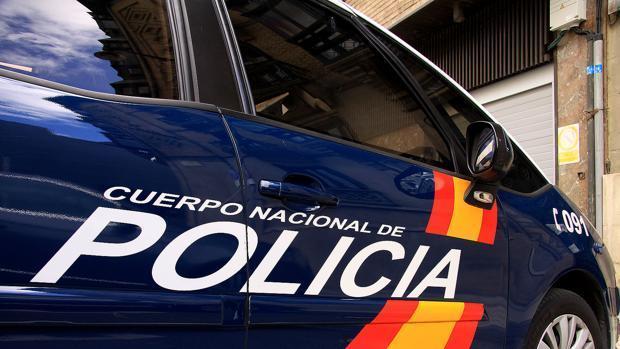Vehículo del cuerpo de la Policía Nacional