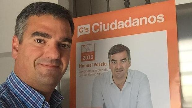 Manuel Varela se retiró a última hora de la carrera electoral en las pasadas elecciones municipales