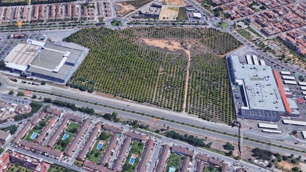 El nuevo centro comercial se ubicará entre el Factory y Carrefour