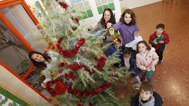 Los primeros árboles fueron entregados en El Olivo y Santa Teresa