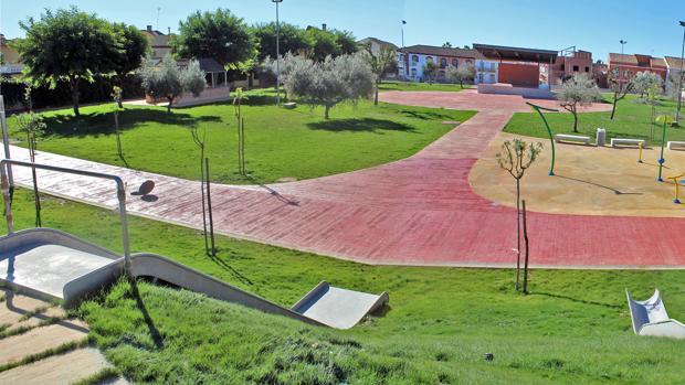 Nuevo parque «Concejala Dolores Camino»