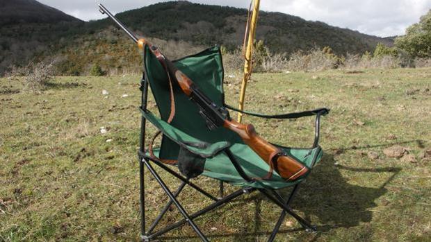 Imagen de archivo de un puesto en una montería