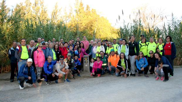 La última señalización de la Vía Augusta del Camino de Santiago se ha inaugurado en Lebrija