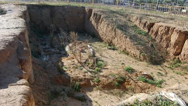 El dolmen de Montelirio se encuentra cubierto tras las últimas excavaciones