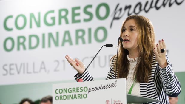 Verónica Pérez ha defendido que su partido presente la moción de censura en Palomares del Río