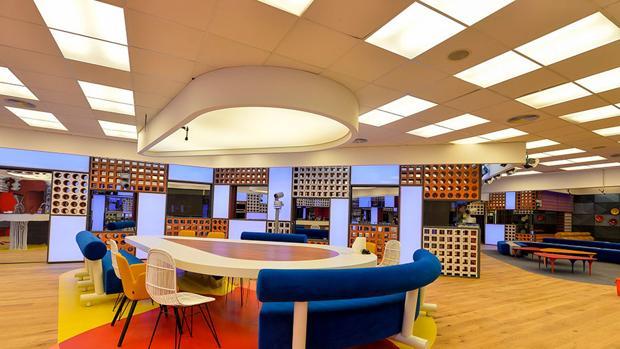 El salón de «Gran Hermano», que emite Telecinco