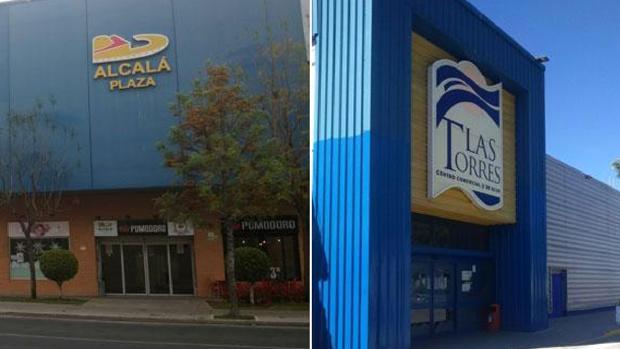 Los centros comerciales Alcalá Plaza y Las Torres, ubicados en Alcalá de Guadaíra y Écija, respectivamente