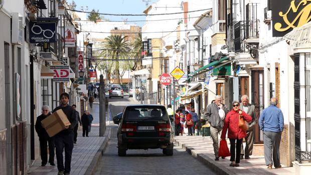 Centro ciudad de Puebla de Cazalla