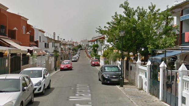 La calle Doctor Marañón, en el barrio de Cavaleri en Mairena del Aljarafe