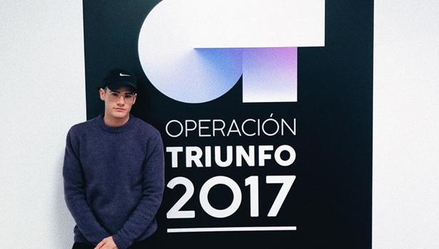 Raúl Gómez antes de entrar en la academia de OT