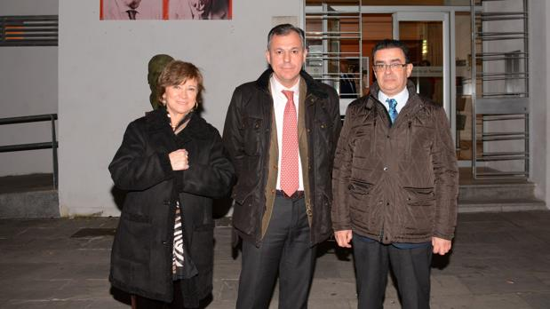 Nativel Preciado, José Luis Sanz y Paco Robles
