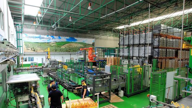 La fábrica de la empresa nazarena que expone sus productos en Dubai