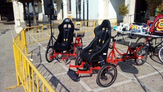 Las dos bicicletas que ha adquirido el Ayuntamiento de Marchena