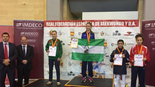 Ana Jiménez ganó el campeonato de España el pasado 24 de febrero en Córdoba