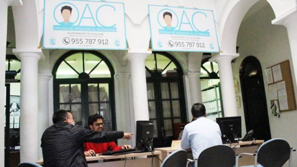La algaba pone en marcha la oficina de atenci n al for Oficina de atencion al ciudadano linea madrid