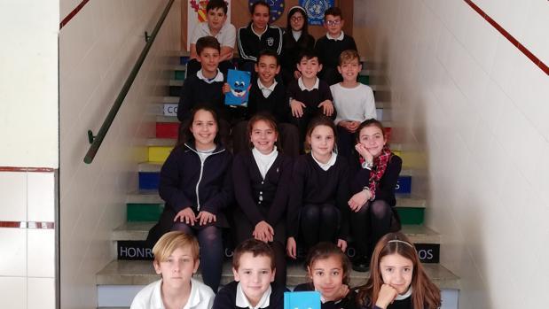 Alumnos del colegio