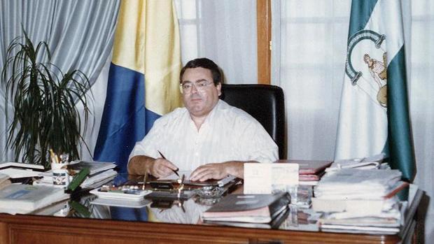 Antonio Pérez, en una foto de archivo en el despacho de la Alcaldía de San Juan