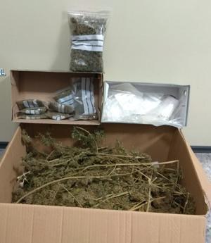 También se incautaron de un kilo de marihuana