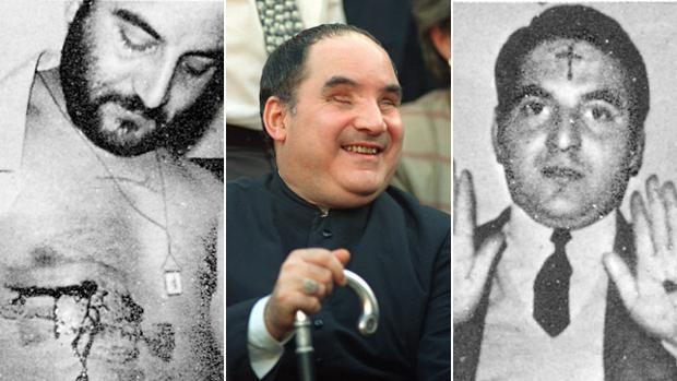 Clemente Domínguez en distintos momentos de su vida