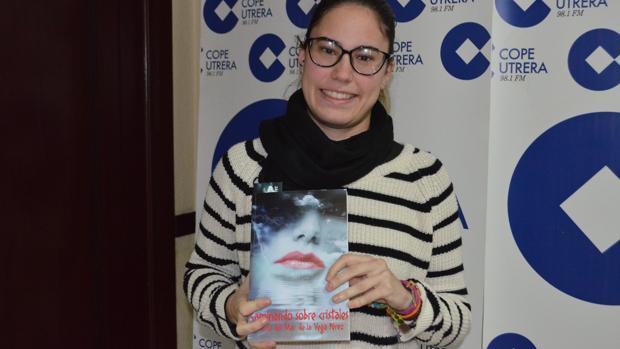 La joven María del Mar de la Vega, que con solo 23 años ya ha publicado dos libros