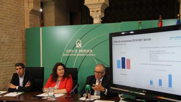 Endesa invertirá 256 millones de euros en la provincia de Sevilla en el trienio 2019-2021