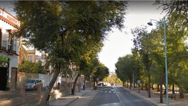 El herido fue localizado en la calle Sol, tras darse a la fuga