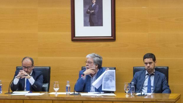 El alcalde Toscano, durante el pleno extraordinario a cuenta del caso Paniagua