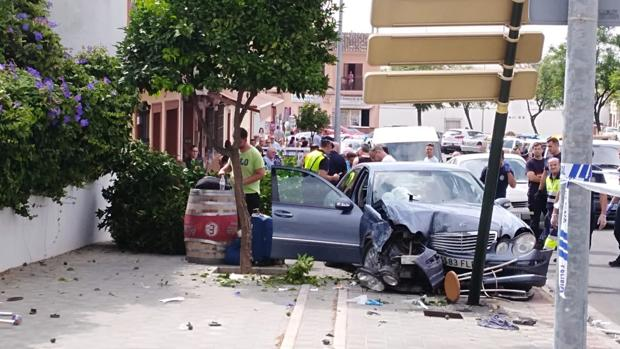 "Accidente este domingo en la Avenida Joselito ""El Gallo"""