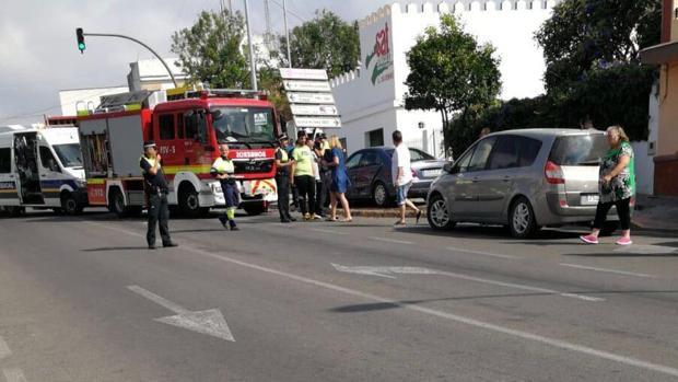 El accidente tuvo lugar en la Avenida Joselito «El Gallo» a las 10.30 horas