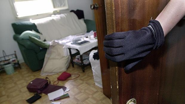 Imagen de archivo de un asalto a una vivienda
