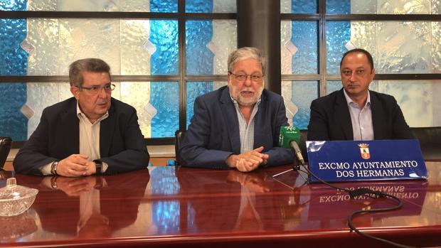 Carlos Toscano, Francisco Toscano y Alfonso Rodríguez Gómez de Celis