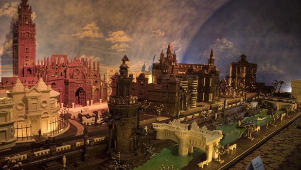 Estepa inaugura una ciudad de sevilla hecha con m s de 2 - Fotos estepa sevilla ...