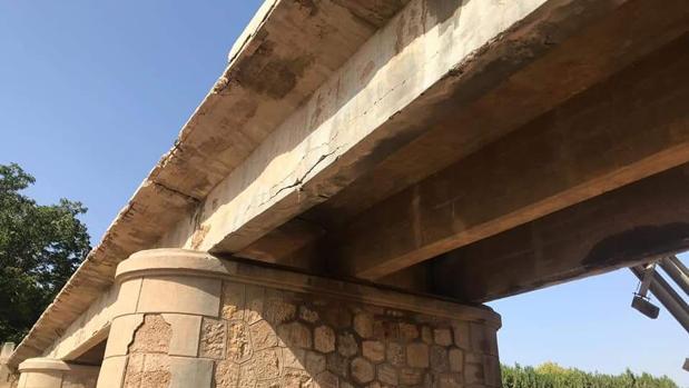 Los militares construirán un puente provisional en El Rubio para restablecer las comunicaciones afectadas