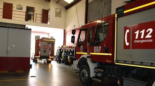 Vehículos de bomberos de Sevilla