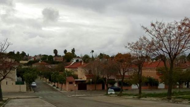 Urbanización de Soto Alto, en Gelves, donde se han producido algunos de los robos
