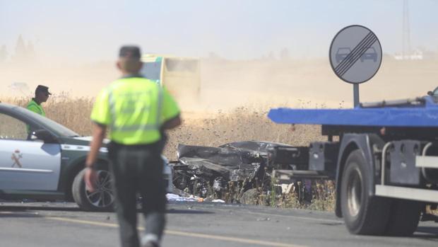 Imagen de archivo de un accidente mortal