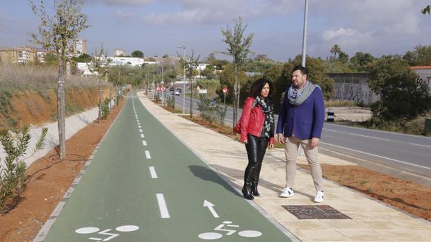 Abierta la ciclosenda de 400 metros que conecta Mairena Sur con el entorno de Porzuna