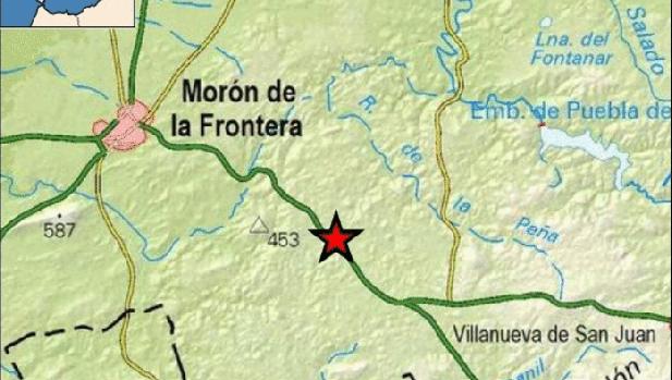 Uno de los tres seísmos registrados este lunes en la provincia, en Morón con intensidad de 3,0 grados