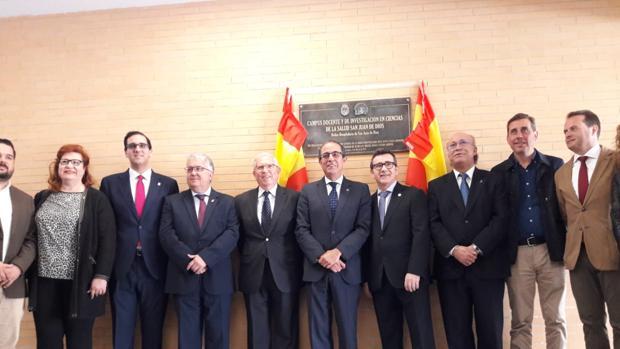 Jesús Etayo O.H., Miguel Ángel Casto, José Antonio Soria O.H., Antonio Conde, Francisco Molina y Romualdo Garrido, entre otros